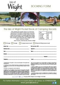camping & caravan booking form image