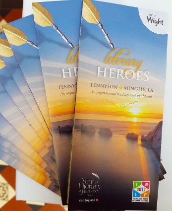 Literary Heroes leaflets